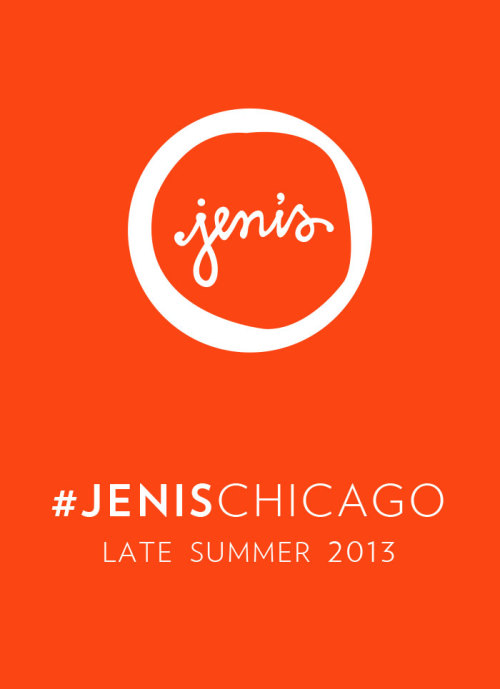 jenisicecreams:  Hello, Chicago. Follow along at @jenisCHI or on Facebook.