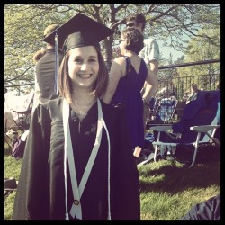 Congratulations again to all the #UNH13 graduates on such a beautiful weekend in Durham, NH. #WildcatPride  (at 2013 UNH Commencement)