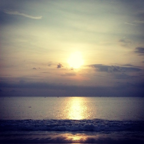 #bali #jimbaran #beach #sunset