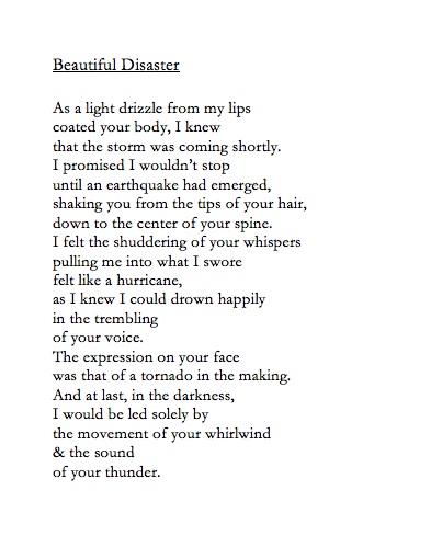 connotativewords:  May 20, 2013 and in the midst of all things reckless, you are the only place I want to be