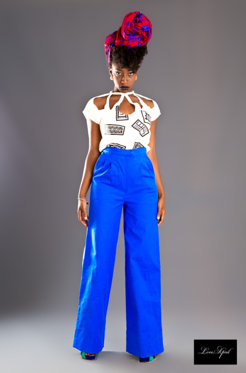 Label : Love April Designer : Nina Bakers-Woode Model : Afua Asona Styled by Tricia Yeboah Photography by Ofoe Amegavie