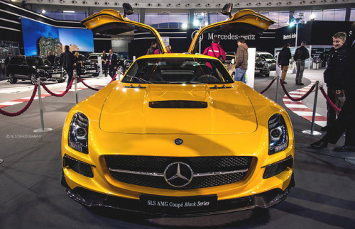 Wings on Flickr.Via Flickr: Mercedes SLS AMG Black Series. 51. International Car Show Belgrade 2013. © All rights reserved.Like me on Facebook