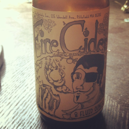 Fire Cider, made in Pittsfield!