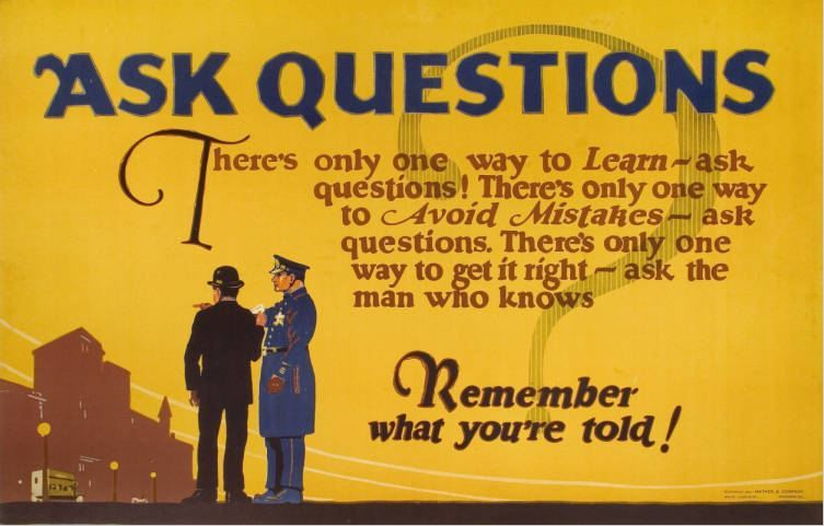 questionableadvice:  ~ Mather & Company workplace poster, 1923 via Hagley Museum and Library