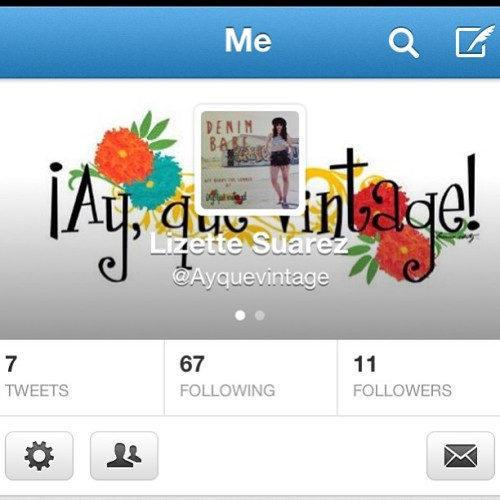 Follow @ayquevintage on twitter! I will be tweeting for them! (I am new to twitter, so if you have any tips, send 'em my way)