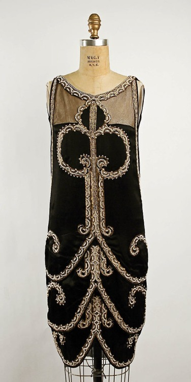 Callot Soeurs evening dress, c.1925
