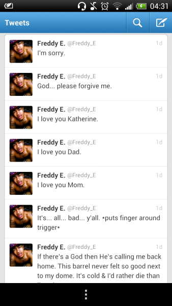 5osix:  It's all bad y'all..  Rest In Paradise Freddy E.