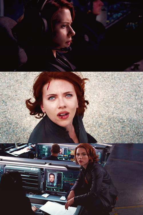 {12 favourite characters of 2012} Natasha Romanoff, The Avengers  Thank you for your cooperation.