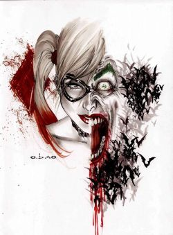 artwork joker harley quinn dc comics mistah j joker and harley Clown prince of crime