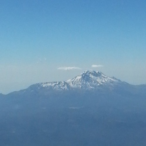 #Popocatépetl visible from my seat with spectacular view on flight out of #MexicoCity in March 2013 #Volcano #Nature #Fury
