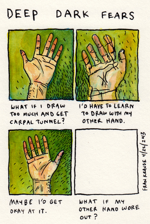 eatsleepdraw:  via deep dark fears