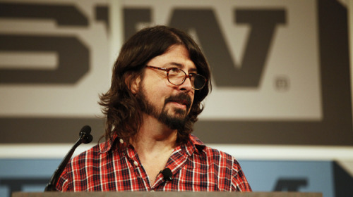 Watch Prof. Grohl's SXSW keynote speech from earlier today here. And here's one of many news items on the speech.
