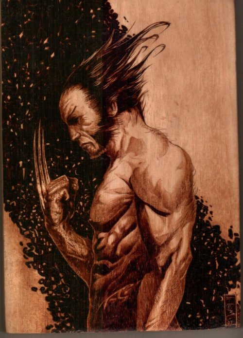 lulubonanza:  wolverine by ~burninginkworks