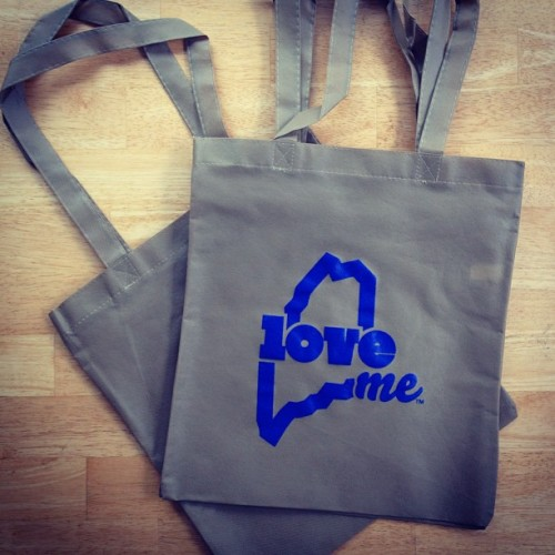 Planning a Maine wedding? We do custom totes, koozies and bottle openers! #LoveMaine