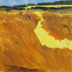 Yellow path22 x 22 inches2013
