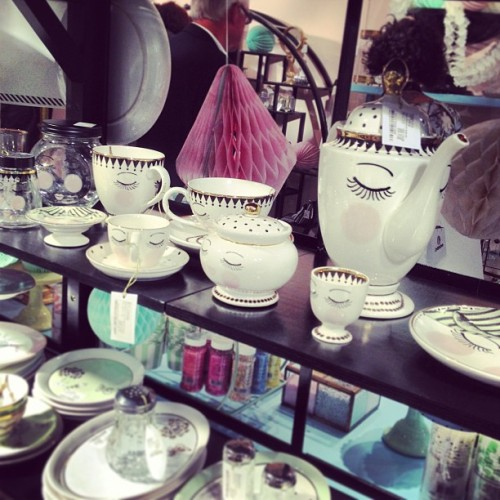 I love love #MissEtoile #WANT #dinnerware #pulse2013 #randomtypography #interiordesign  (at Earls Court Exhibition Centre)