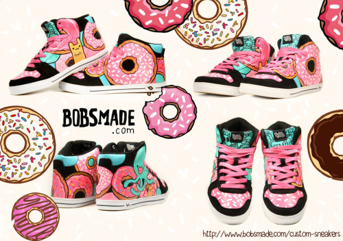 Donut Monster Sneaker by *Bobsmade