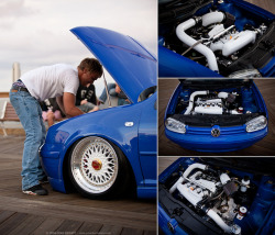 stancespice:  Will Sparrow's Mk4 Volkswagen Golf GTI - Performance Volkswagen Magazine // April 2013 by Jonathan_DeHate on Flickr.