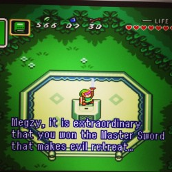 Damn straight I did! #megzy #zelda #childhood #linktothepast #mac #emulator #mastersword #videogames #nintendo #lifelessons