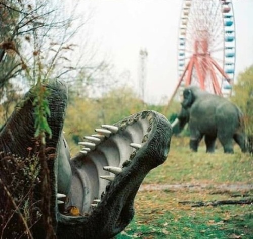 bellevintage:  Abandoned Amusement Park in New Orleans