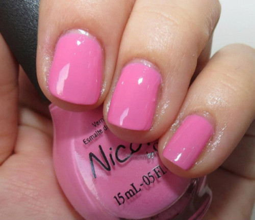 "Selena Gomez' ""Naturally"" from her Nicole by OPI Nail Polish Collection!"