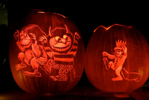Where The Wild Things Are jack-o-lanterns