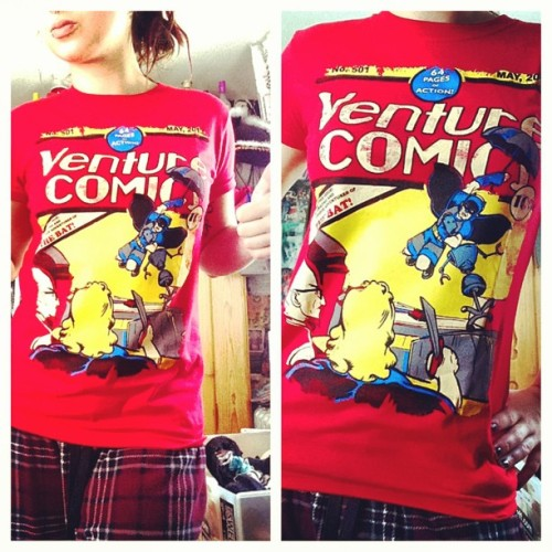 Don't act like you're not jelly of my new #venturebros shirt (at Bird Lady Cabana)