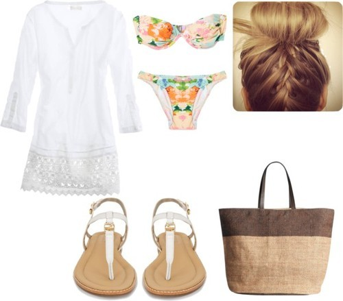 Perrie  inspired for a beach day/ day at the pool —Alexa
