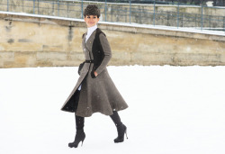 Street style at the Paris couture shows