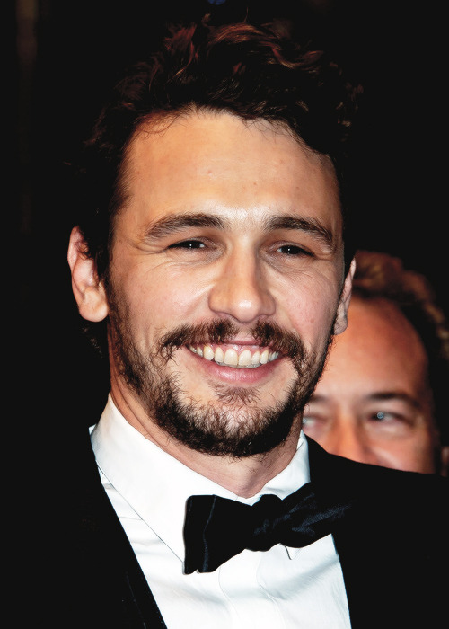 James Franco attends the Premiere of 'Wara No Tate' during the 66th Annual Cannes Film Festival on May 20th, 2013.