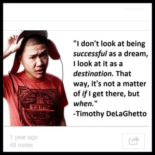 timothydelaghetto:  Sweeeet! Make more of these of my quotes so i can be like Drake, guys lol #repost from @odd_kiddo