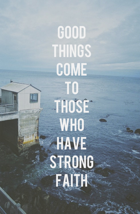 "spiritualinspiration:  Friends, throughout life, fear will come knocking at the door, selling you the worst case scenario. Fear tells you, ""You're going to lose your job. Your marriage is over. Your business is falling apart. Your child is done. It's all downhill from here."" When those thoughts come, you don't have to buy in. You don't have to accept those thoughts. Here's the key: when fear knocks, let faith answer the door. Don't give those thoughts of fear the time of day. Don't let them intimidate you. Answer back with faith. ""Lord, You said the number of my days You would fulfill. God, You said Your plans for me are for good and not evil. God, You said what's meant for my harm You would turn around and use to my advantage."" If you'll keep an attitude of faith and expectancy, it's like keeping the door locked on an intruder. Fear has no right in the life of a believer. Greater is He who is in you than he who is in the world. Remember, the battle is in your mind. The enemy is after your thoughts. Don't give him the time of day; and when fear knocks, let faith answer the door!"