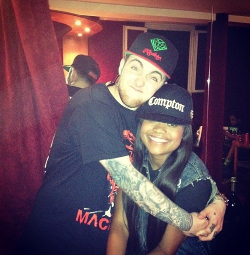 #ThrowBack Mac & Karen in Paris..