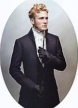 fashion please History 19th century ;) karl lagerfeld no really 1800s numero homme dandy beau lolaEDIT faints regency HOLY ASDFGHJKLKJHGFDSDFGHJK can this make a come back? ok.thanks.bye. lolaFASHION gallant can you recognise the paintings behind these shots? dandies