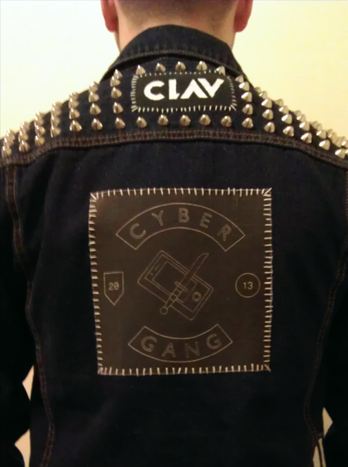 zinepolice:  Clavcity got my #cybergang patch.
