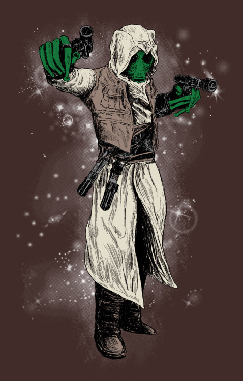 gamefreaksnz:  Assassin Greedo by DangeRuss on sale 5/20