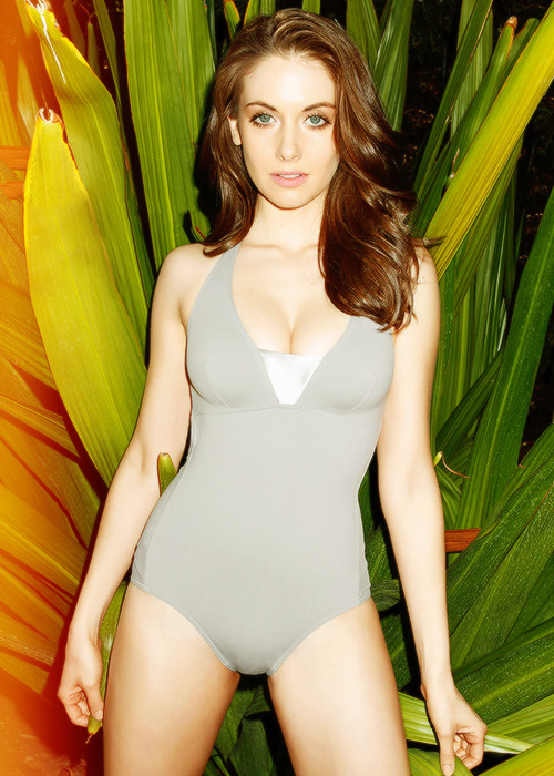Alison Brie for Esquire April 2013