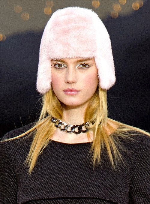 Sigrid Agren at Chanel Fall 2013