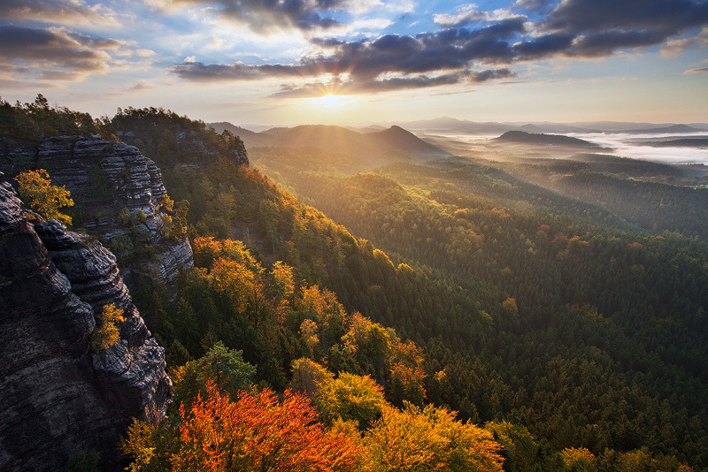 allthingseurope:  Bohemian Switzerland, Czech Republic (by Martin Rak Photography)