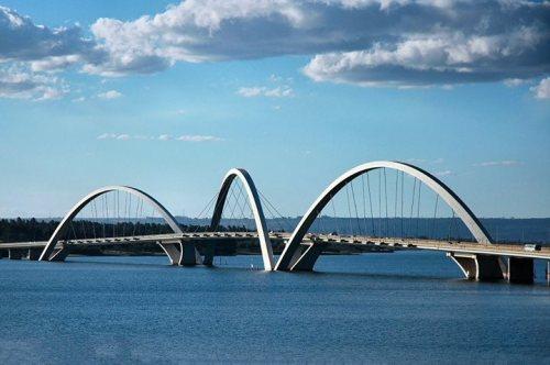 inspirationfeed:  Juscelino Kubitschek(JK) Bridge - Brasília - Brazil. http://ift.tt/1q3MauA