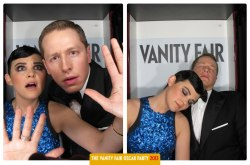 Gosh in Vanity Fair Photo Booth