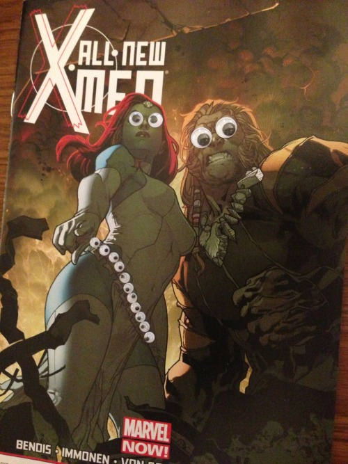 Happy Mother's Day from X-Men with Googly Eyes and one of the worst mothers in the Marvel Universe.