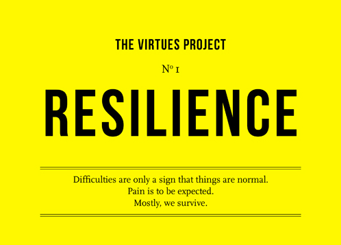 "Alain de Botton: Ten Virtues for the Modern Age ""1. Resilience. Keeping going even when things are looking dark; accepting that reversals are normal; remembering that human nature is, in the end, tough. Not frightening others with your fears. 2. Empathy. The capacity to connect imaginatively with the sufferings and unique experiences of another person. The courage to become someone else and look back at yourself with honesty. 3. Patience. We lose our temper because we believe that things should be perfect. We've grown so good in some areas (putting men on the moon etc.), we're ever less able to deal with things that still insist on going wrong; like traffic, government, other people… We should grow calmer and more forgiving by getting more realistic about how things actually tend to go. 4. Sacrifice. We're hardwired to seek our own advantage but also have a miraculous ability, very occasionally, to forego our own satisfactions in the name of someone or something else. We won't ever manage to raise a family, love someone else or save the planet if we don't keep up with the art of sacrifice.  5. Politeness. Politeness has a bad name. We often assume it's about being 'fake' (which is meant to be bad) as opposed to 'really ourselves' (which is meant to be good). However, given what we're really like deep down, we should spare others too much exposure to our deeper selves. We need to learn manners, which aren't evil - they are the necessary internal rules of civilisation. Politeness is very linked to tolerance, the capacity to live alongside people whom one will never agree with, but at the same time, can't avoid. 6. Humour. Seeing the funny sides of situations and of oneself doesn't sound very serious, but it is integral to wisdom, because it's a sign that one is able to put a benevolent finger on the gap between what we want to happen and what life can actually provide; what we dream of being and what we actually are, what we hope other people will be like and what they are actually like. Like anger, humour springs from disappointment, but it's disappointment optimally channelled. It's one of the best things we can do with our sadness. 7. Self-awareness. To know oneself is to try not to blame others for one's troubles and moods; to have a sense of what's going on inside oneself, and what actually belongs to the world. 8. Forgiveness. Forgiveness means a long memory of all the times when we wouldn't have got through life without someone cutting us some slack. It's recognising that living with others isn't possible without excusing errors. 9. Hope. The way the world is now is only a pale shadow of what it could one day be. We're still only at the beginning of history. As you get older, despair becomes far easier, almost reflex (whereas in adolescence, it was still cool and adventurous). Pessimism isn't necessarily deep, nor optimism shallow. 10. Confidence. The greatest projects and schemes die for no grander reasons than that we don't dare. Confidence isn't arrogance, it's based on a constant awareness of how short life is and how little we ultimately lose from risking everything."""