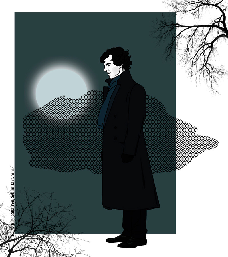 Sherlock by ~LilyRedHaired And this is my old picture with deviantart. Such was the mood here. At DA I lilyredhaired