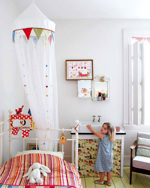 cute child's room (via desire to inspire)