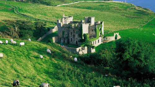 allthingseurope:  Clifden Castle, Ireland (by mikelmcknight72a)