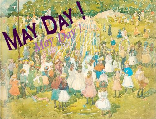 "On Display: May Day! May is here, so bust out the maypole and celebrate with some books.  Try books with the word ""May"" in their titles, or authors with ""May"" in their names. Suggested titles: May There Be a Road, by Louis L'Amour May, by Kathryn Lasky May the Road Rise Up to Meet You, by Peter Troy The Lost Summer of Louisa May Alcott, by Kelly McNees The Mayday, by Bill Eidson"