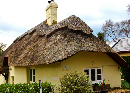 Thatched House - Amen Corner.  Photo by Hodd1350.