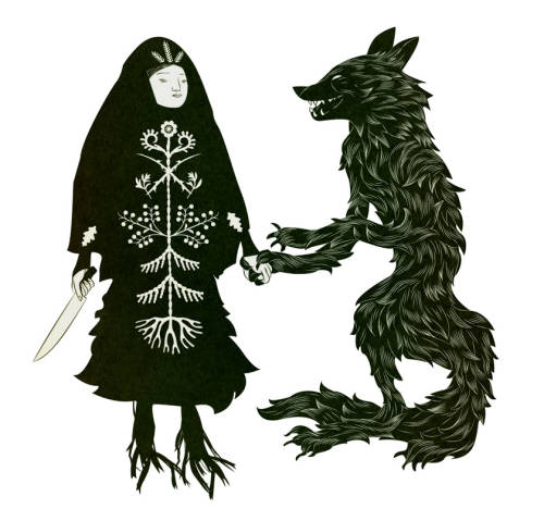 wedodrugs:  Baba Yaga and the Wolf // Tin Can Forest