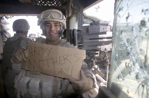 futureranger1996:  armedforceslove:  Happy Mother's Day   Happy Mother's Day, from the sand box ^